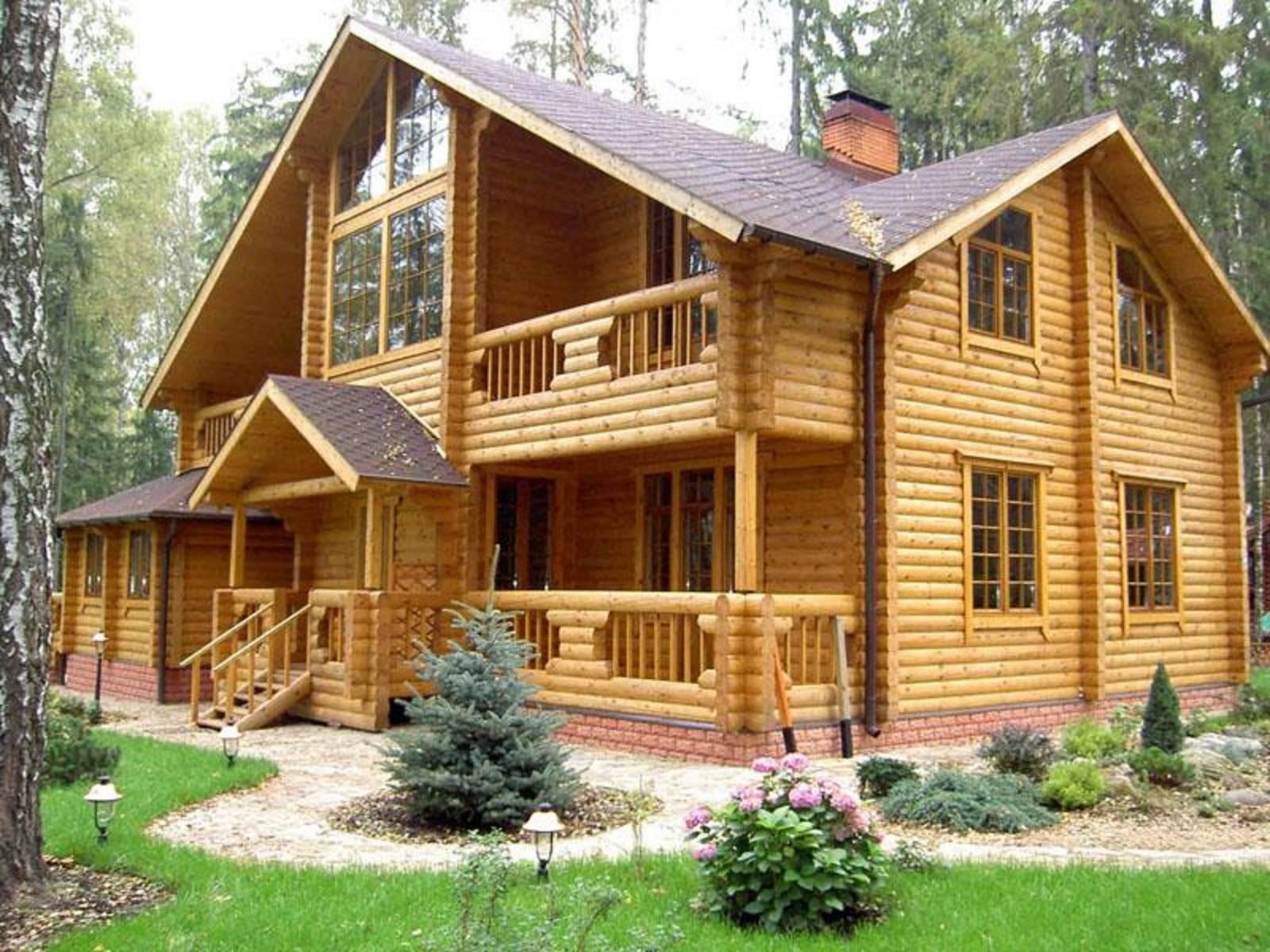Построить дом своими руками из бревна
